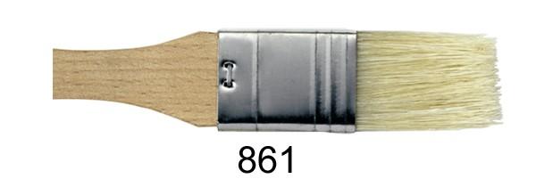 Borstenpinsel 861