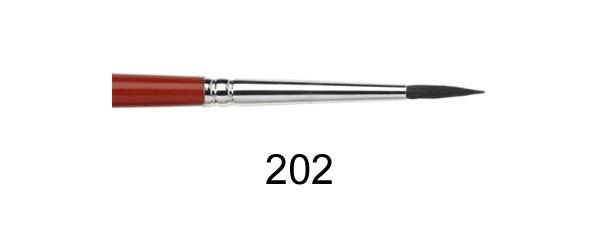 Zeichenpinsel P 202 Fehhaar