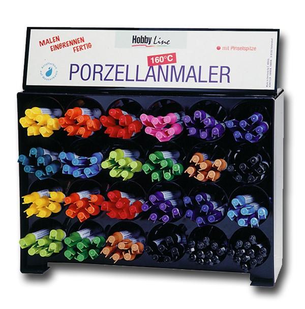 Porzellanmaler mit Pinselspitze Violett